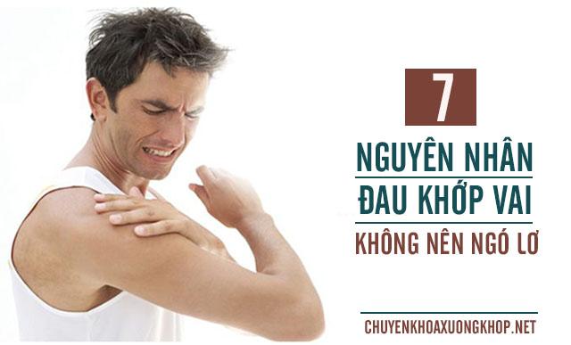 Nguyên nhân đau khớp vai