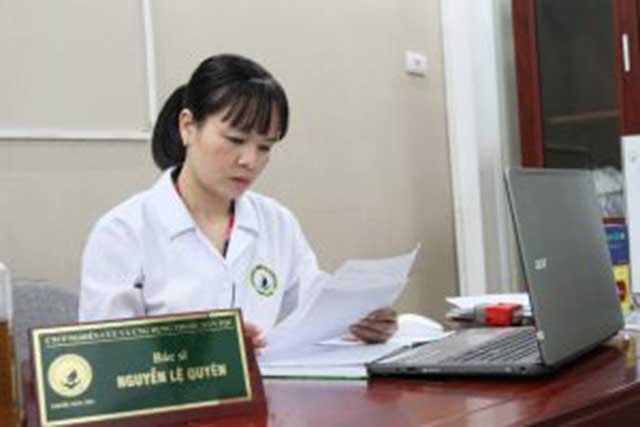 Bác sĩ Nguyễn Lệ Quyên