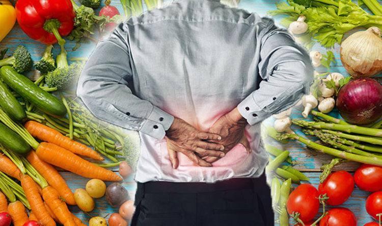 Cần cân bằng chế độ dinh dưỡng để giảm tình trạng đau lưng
