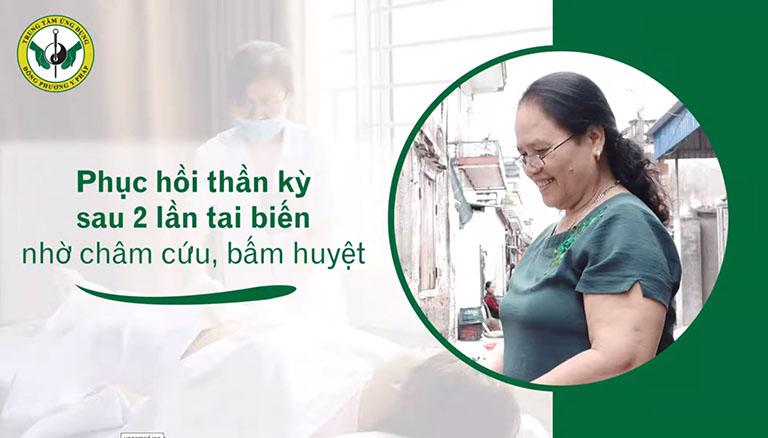 Bệnh nhân phục hồi hoàn toàn sau 2 lần tai biến nhờ Vật lý trị liệu phục hồi chức năng tại Trung tâm