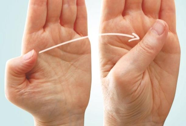 Uốn cong ngón tay cái