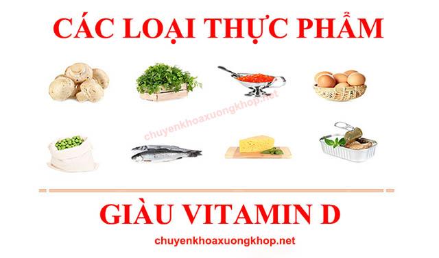 Thực phẩm giàu vitamin D cho người sau khi mổ thoát vị đĩa đệm