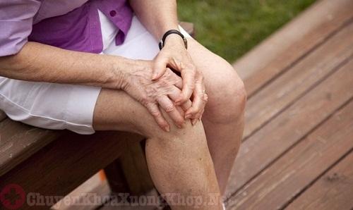 chữa đau khớp gối bằng thảo dược
