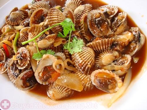 Khi bị bệnh viêm khớp nên ăn gì - Hải sản