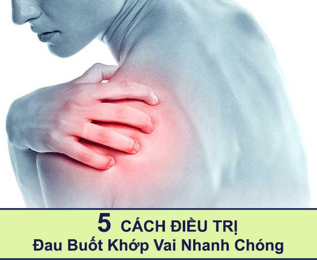 Điều trị đau buốt khớp vai