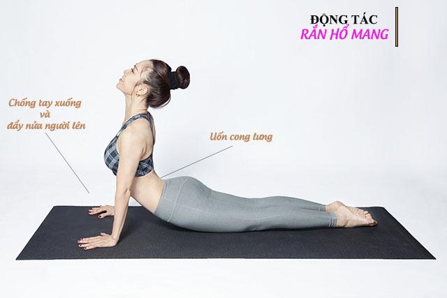 Động tác chữa thoát vị đĩa đệm cột sống thắt lưng