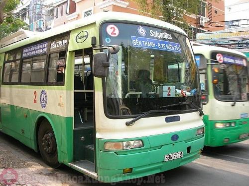 Các tuyến xe buýt đi bệnh viện chấn thương chỉnh hình TPHCM