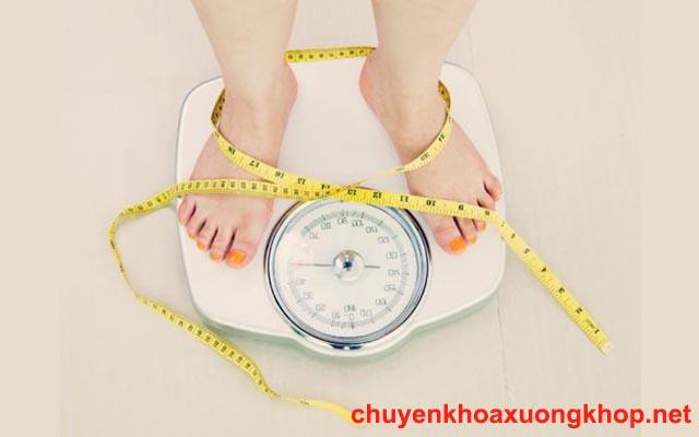 Kiểm soát cân nặng khi bị trượt đĩa đệm cột sống