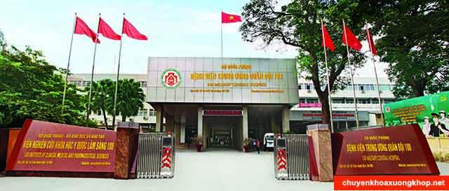 Bệnh viện Quân Y 108 - Bệnh viên chuyên chữa thoát vị đĩa đệm ở Hà Nội