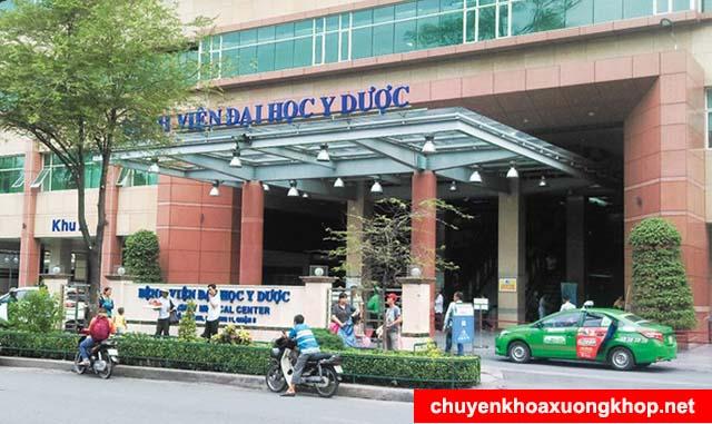 Đại học Y dược bệnh viện chuyên trị thoát vị đĩa đệm ở TP. Hồ Chí Minh