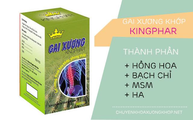 Thành phần thuốc gai xương Kingphar