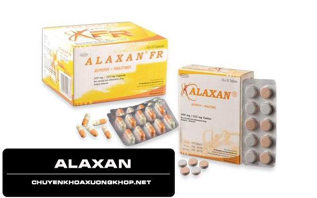 Alaxan - Thuốc chữa đau mỏi vai gáy - đau nửa đầu vai gáy uống thuốc gì