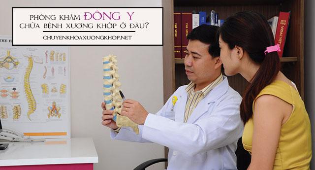 Phòng khám Đông y chữa xương khớp ở đâu?