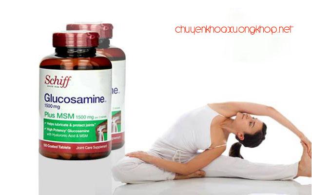 Thuốc bổ viên xương khớp Schiff Glucosamine Plus MSM 1500mg