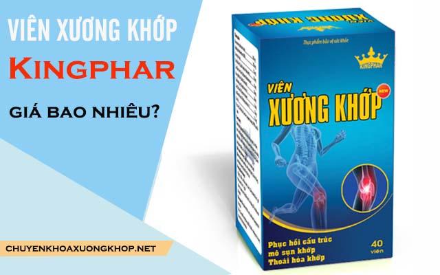 Viên xương khớp Kingphar giá bao nhiêu?