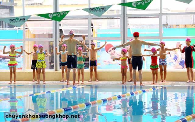 Cách phòng chống chuột rút khi bơi