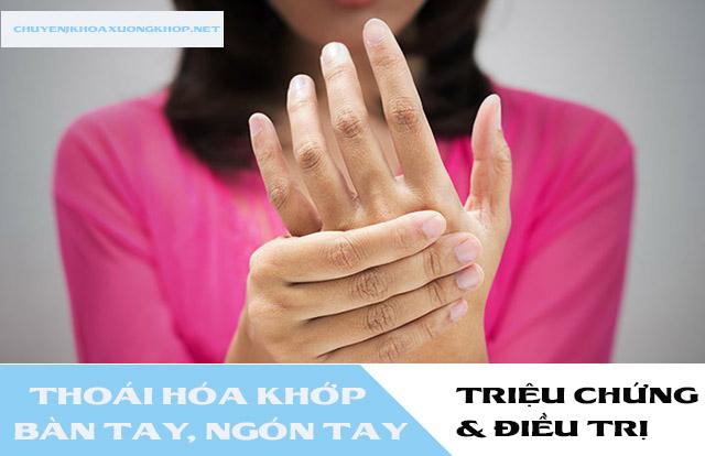 Tìm hiểu về bệnh thoái hóa khớp tay