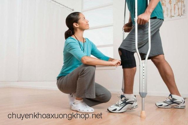 Vật lý trị liệu chấn thương khớp gối