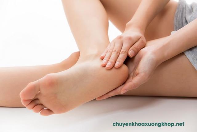 Cách điều trị viêm bao hoạt dịch gân gót chân