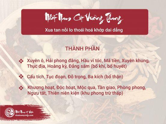 Nhất Nam Cốt Vương Thang – Bài thuốc chữa bệnh thoái hoá khớp hiệu quả